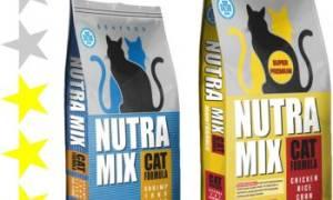 Корм для кошек Nutra Mix (Нутра Микс) — отзывы и советы ветеринаров
